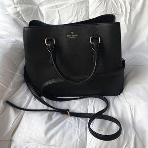 NWT Kate Spade Evangelie Larchmont Ave Black Bag